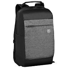 "Buy Wenger Bahn 16"" Laptop Backpack, Black Online at johnlewis.com"