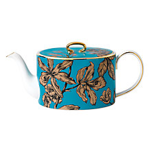 Buy Wedgwood Elegant Townhouse Vibrance Teapot, Turquoise Online at johnlewis.com