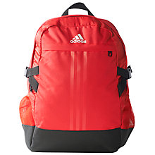 Buy Adidas Power 3 Backpack, Red Online at johnlewis.com