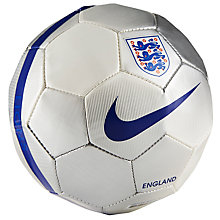 Buy Nike Skills England Mini Football, Size 1, White Online at johnlewis.com