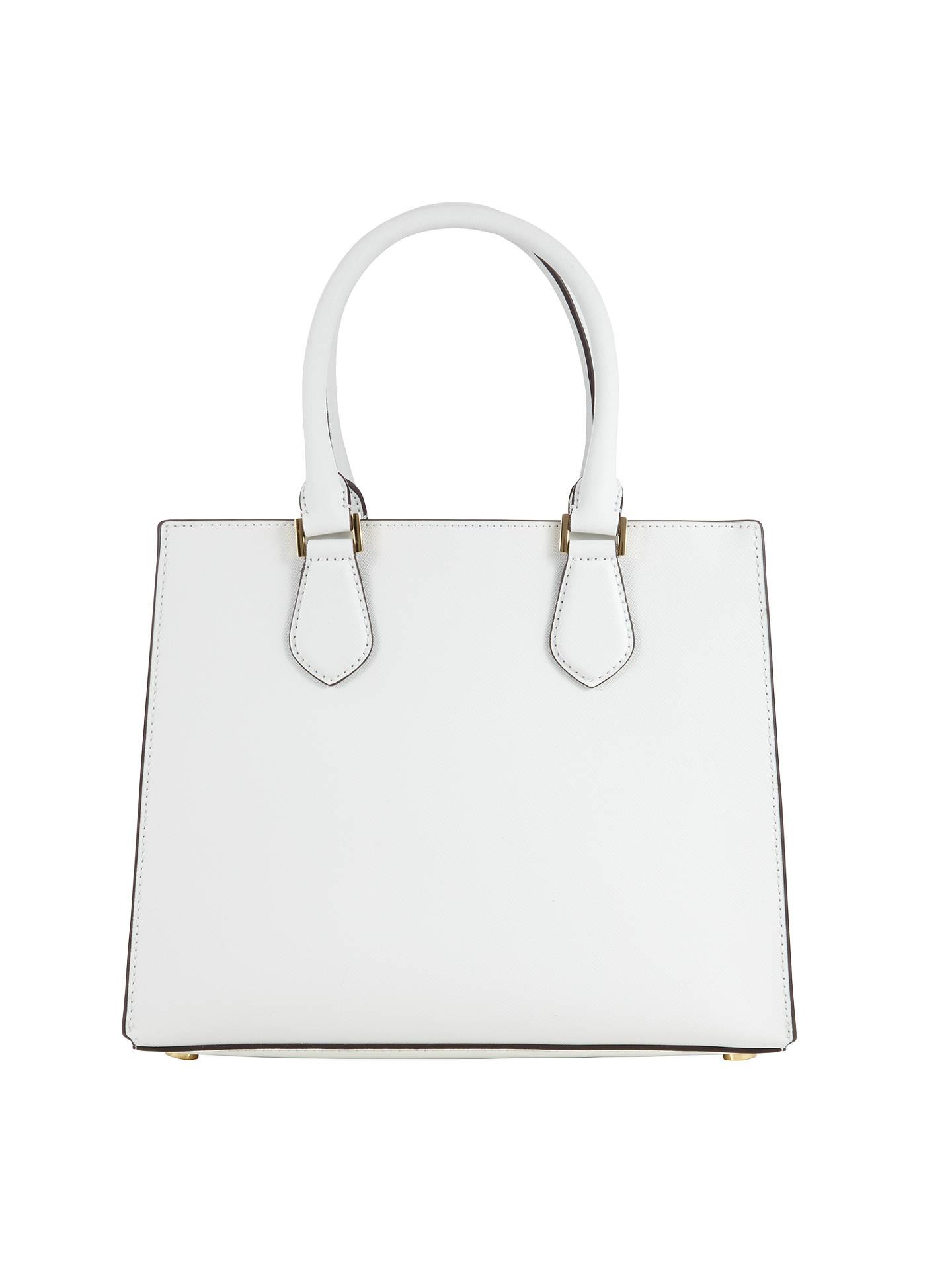 2029cafcb457 ... Buy MICHAEL Michael Kors Bridgette Medium Tote Bag, Optic White Online  at johnlewis.com ...