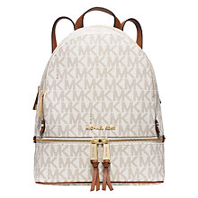 Buy MICHAEL Michael Kors Rhea Backpack Online at johnlewis.com