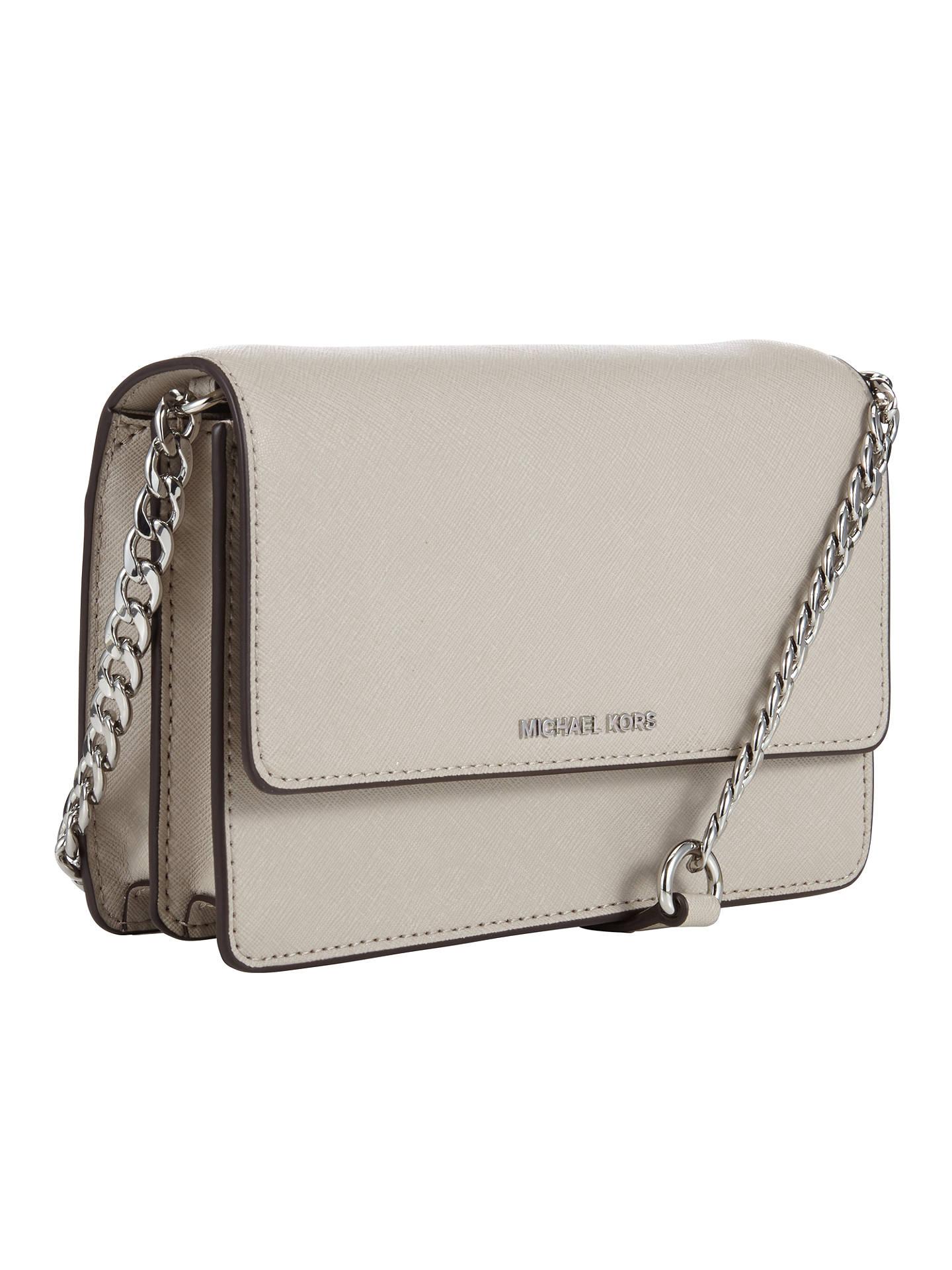 889e538cd5bd MICHAEL Michael Kors Daniela Small Leather Across Body Bag at John ...