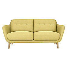 Buy House by John Lewis Arlo Medium 2 Seater Sofa, Light Leg, Riley New Fennel Online at johnlewis.com