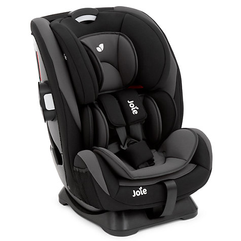 buy joie every stage group 0 1 2 3 car seat black john. Black Bedroom Furniture Sets. Home Design Ideas