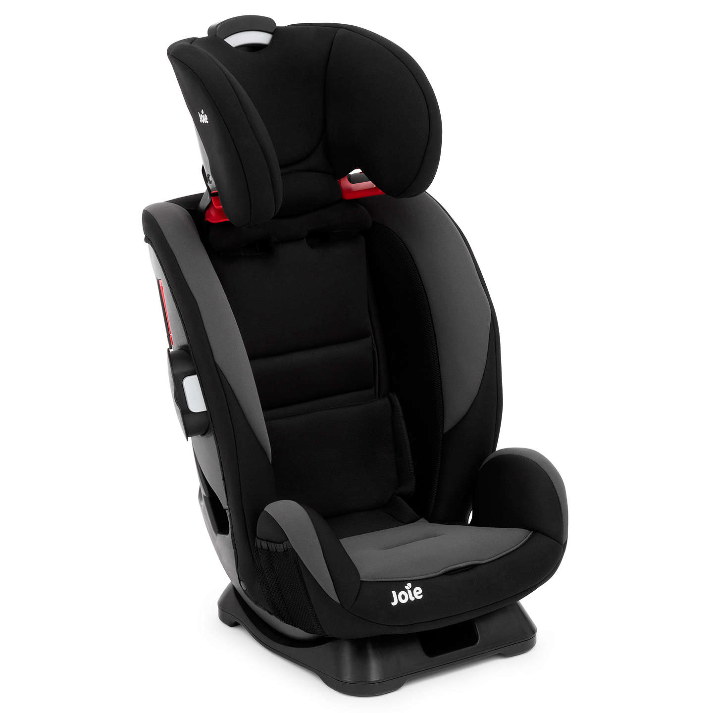 joie every stage group 0 1 2 3 car seat black at john lewis. Black Bedroom Furniture Sets. Home Design Ideas