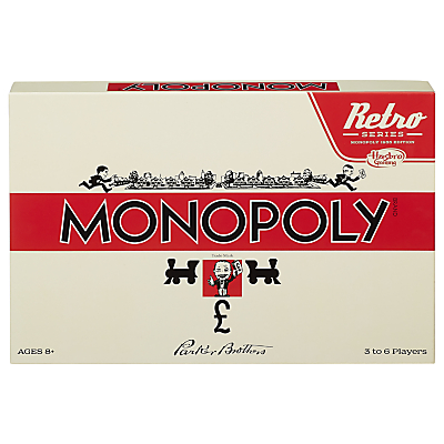 Image of Retro Edition Monopoly Game
