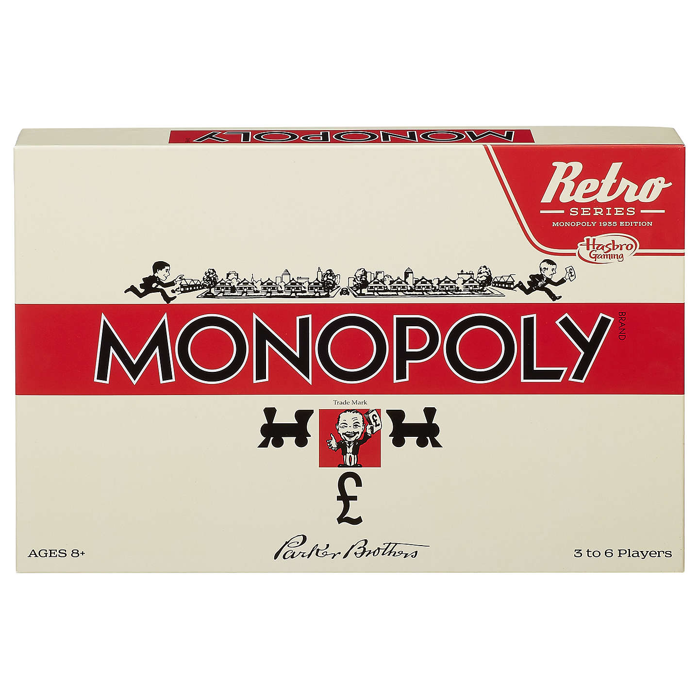BuyRetro Edition Monopoly Game Online at johnlewis.com