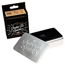 Buy Luckies Pocket Tin Speaker Online at johnlewis.com
