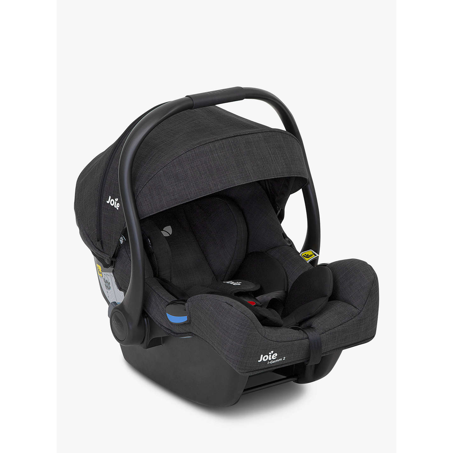 Joie i-Gemm Group 0+ Baby Car Seat, Pavement Grey at John ...