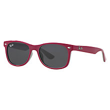 Buy Ray-Ban Junior RB9052S New Wayfarer Sunglasses Online at johnlewis.com