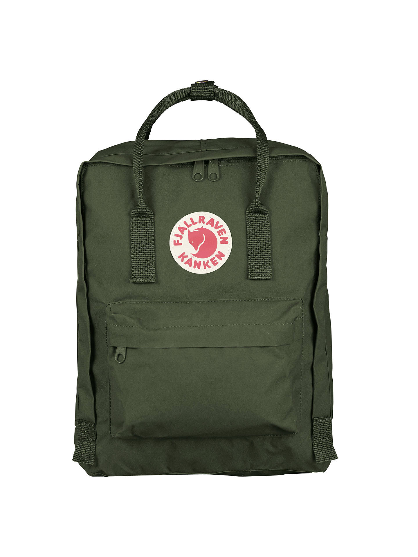 Buy Fjallraven Kanken Classic Backpack, Forest Green Online at johnlewis.com