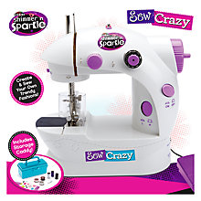 Buy Shimmer and Sparkle My First Sewing Machine Online at johnlewis.com