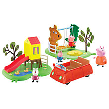 Buy Peppa Pig Day In The Park Playset Online at johnlewis.com