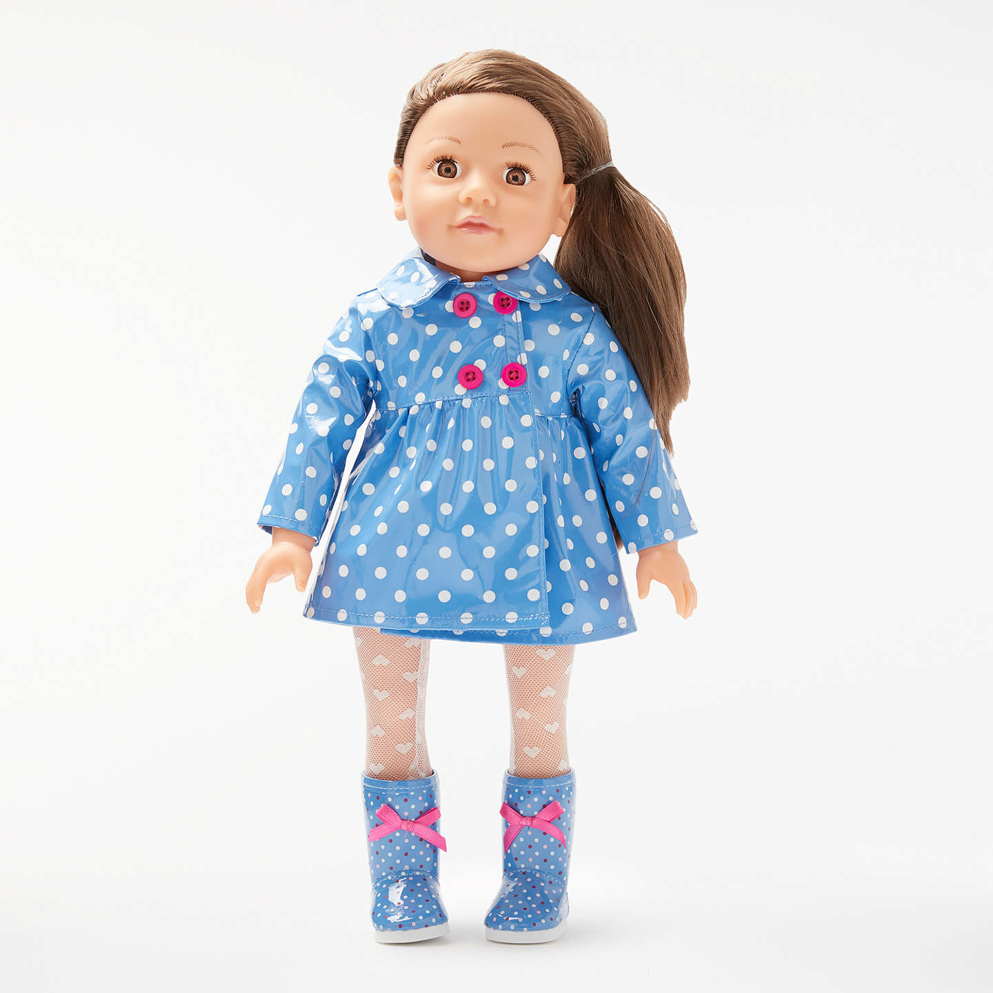 John Lewis Collector\'s Doll Rainy Day Outfit at John Lewis