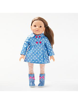 John Lewis & Partners Collector's Doll Rainy Day Outfit