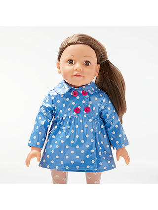 Buy John Lewis & Partners Collector's Doll Rainy Day Outfit Online at johnlewis.com