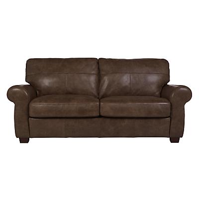 John Lewis Hampstead Medium 2 Seater Leather Sofa