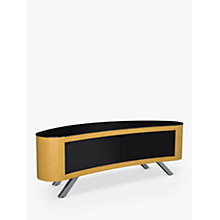 "Buy AVF Affinity Premium Bay 1500 Curved TV Stand For TVs Up To 70"" Online at johnlewis.com"