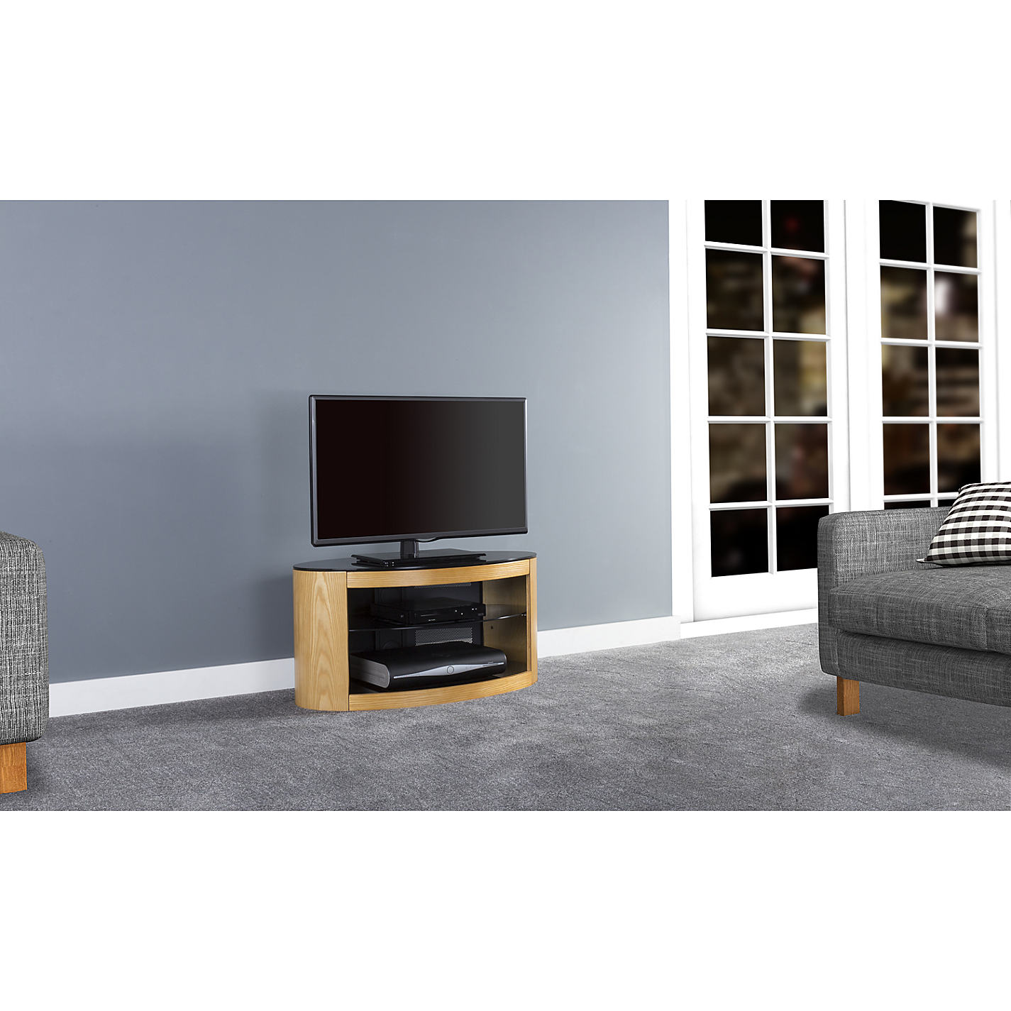 Buy Avf Affinity Premium Buckingham 800 Tv Stand For Tvs Up To 40  # Table Tv Simple A Petit Prix