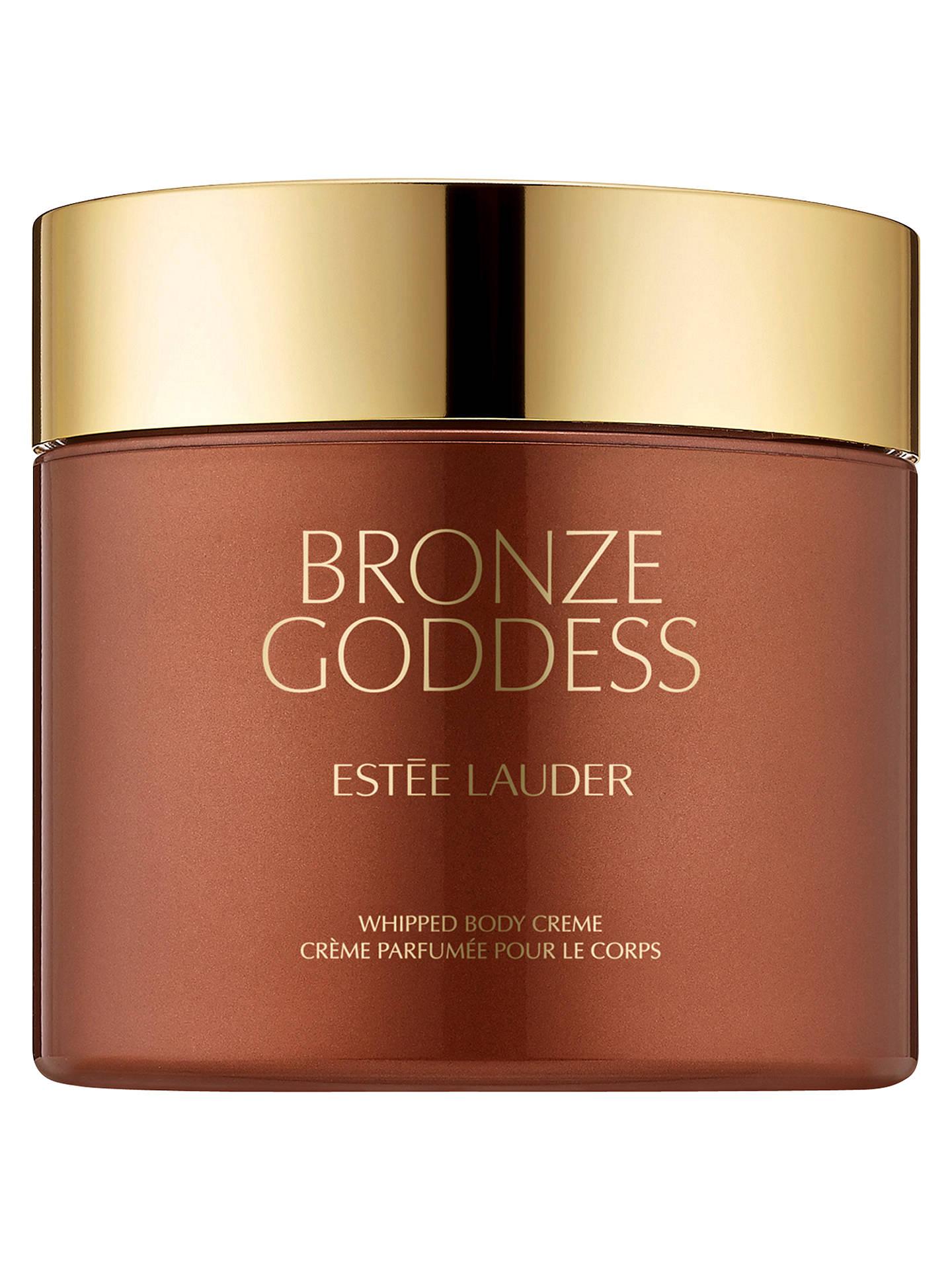Estée Lauder Bronze Goddess Whipped Body Creme 200ml At John Lewis Partners