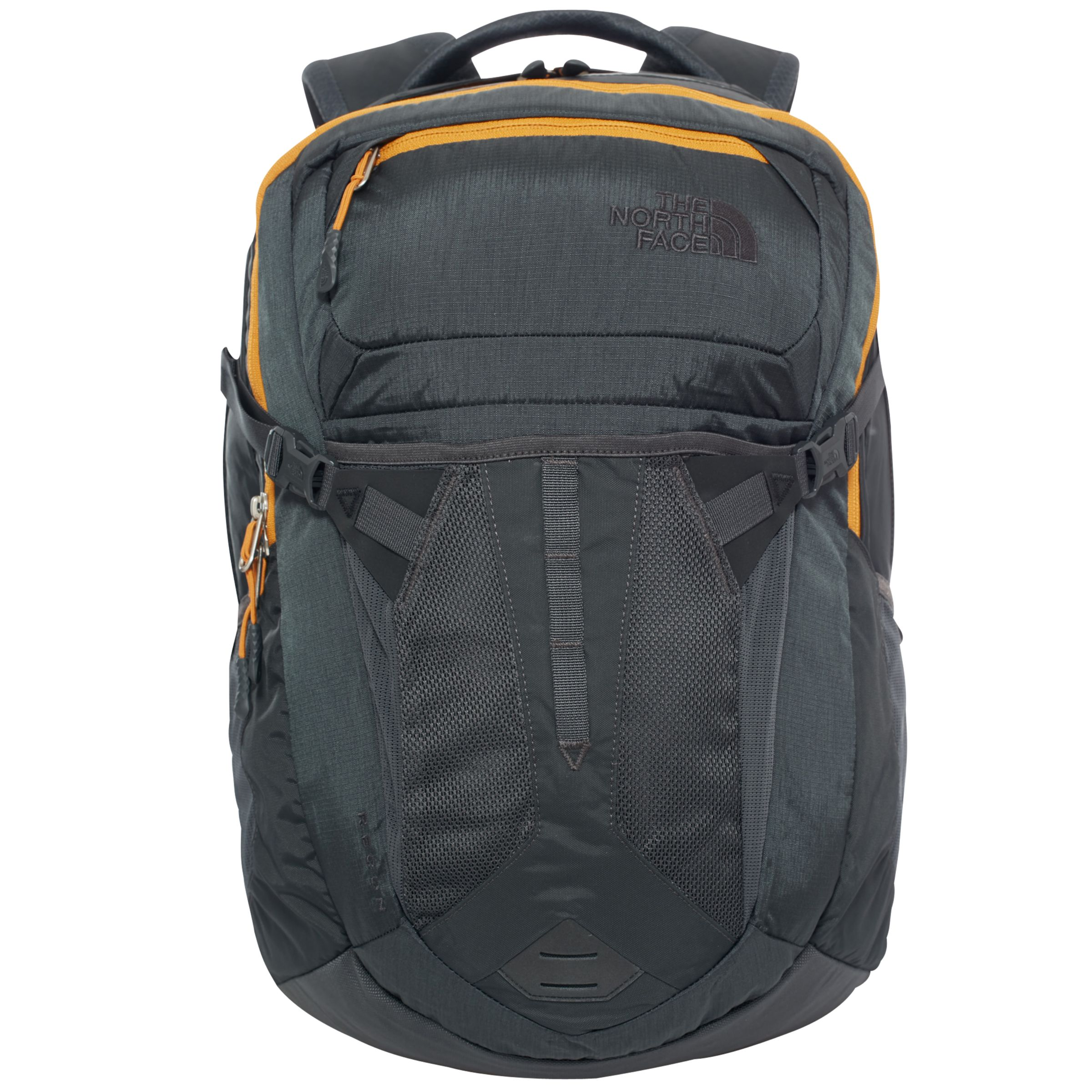 d14657acb The North Face Recon Backpack, Grey/Yellow at John Lewis & Partners