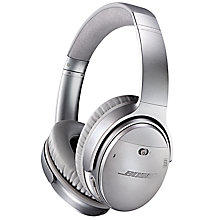 Buy Bose® QuietComfort® Noise Cancelling® QC35 Over-Ear Wireless Bluetooth NFC Headphones With Mic/Remote Online at johnlewis.com