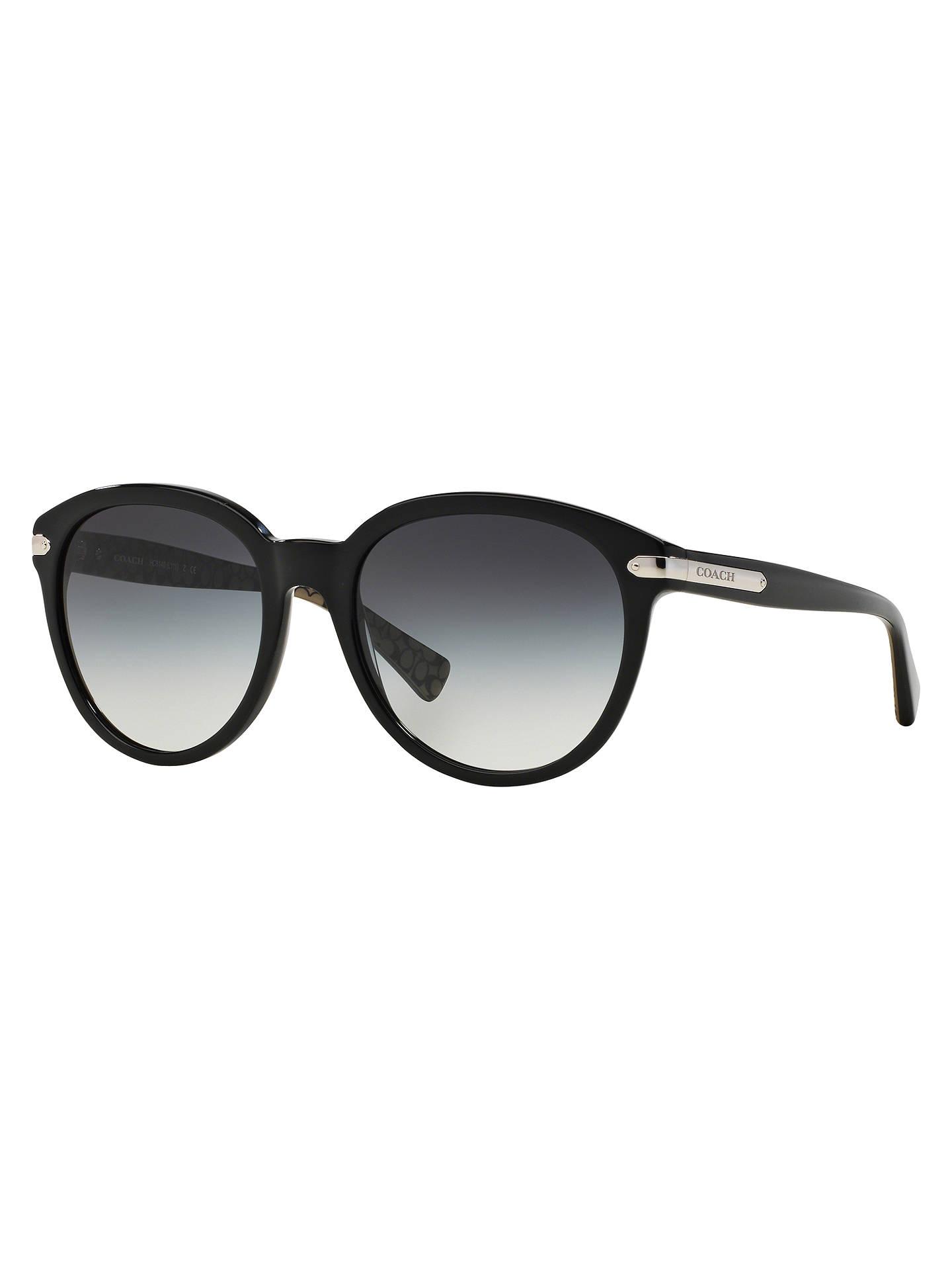 e6323eb701 Coach HC8140 Oval Gradient Sunglasses at John Lewis   Partners