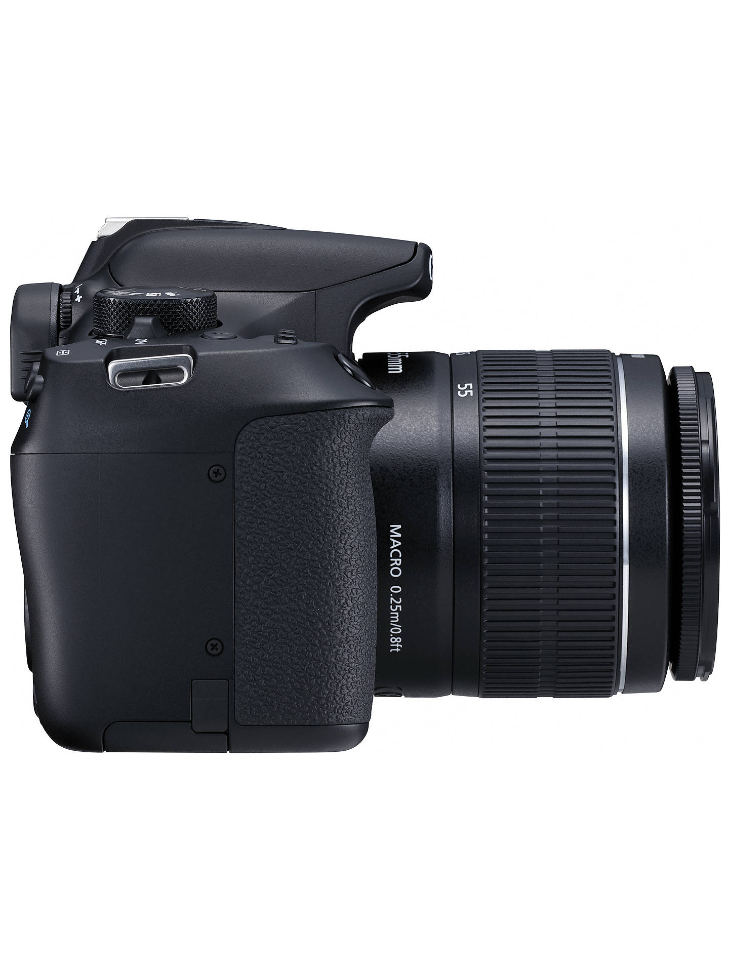 "BuyCanon EOS 1300D Digital SLR Camera with EF 18-55mm f/3.5-5.6 III Lens & EF 50 mm f/1.8 Lens, HD 1080p, 18MP, Wi-Fi, NFC,  3"" LCD Screen Online at johnlewis.com"