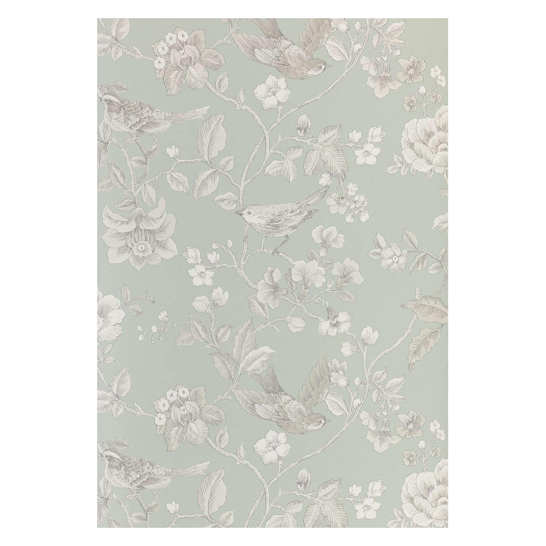 John lewis nightingales wallpaper at john lewis for John lewis bathroom wallpaper