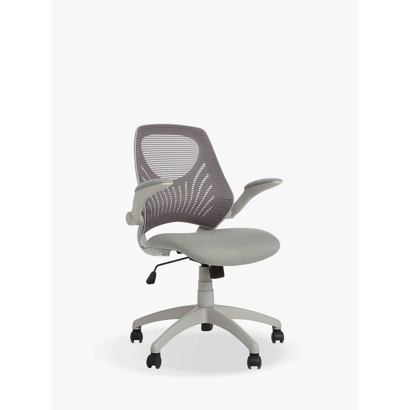 House By John Lewis Hinton Office Chair Grey At Johnlewis Com