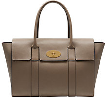 Buy Mulberry Bayswater New Classic Grain Leather Bag Online at johnlewis.com