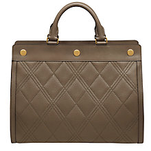 Buy Mulberry Marylebone Quilted Classic Grain Leather Tote Bag Online at johnlewis.com