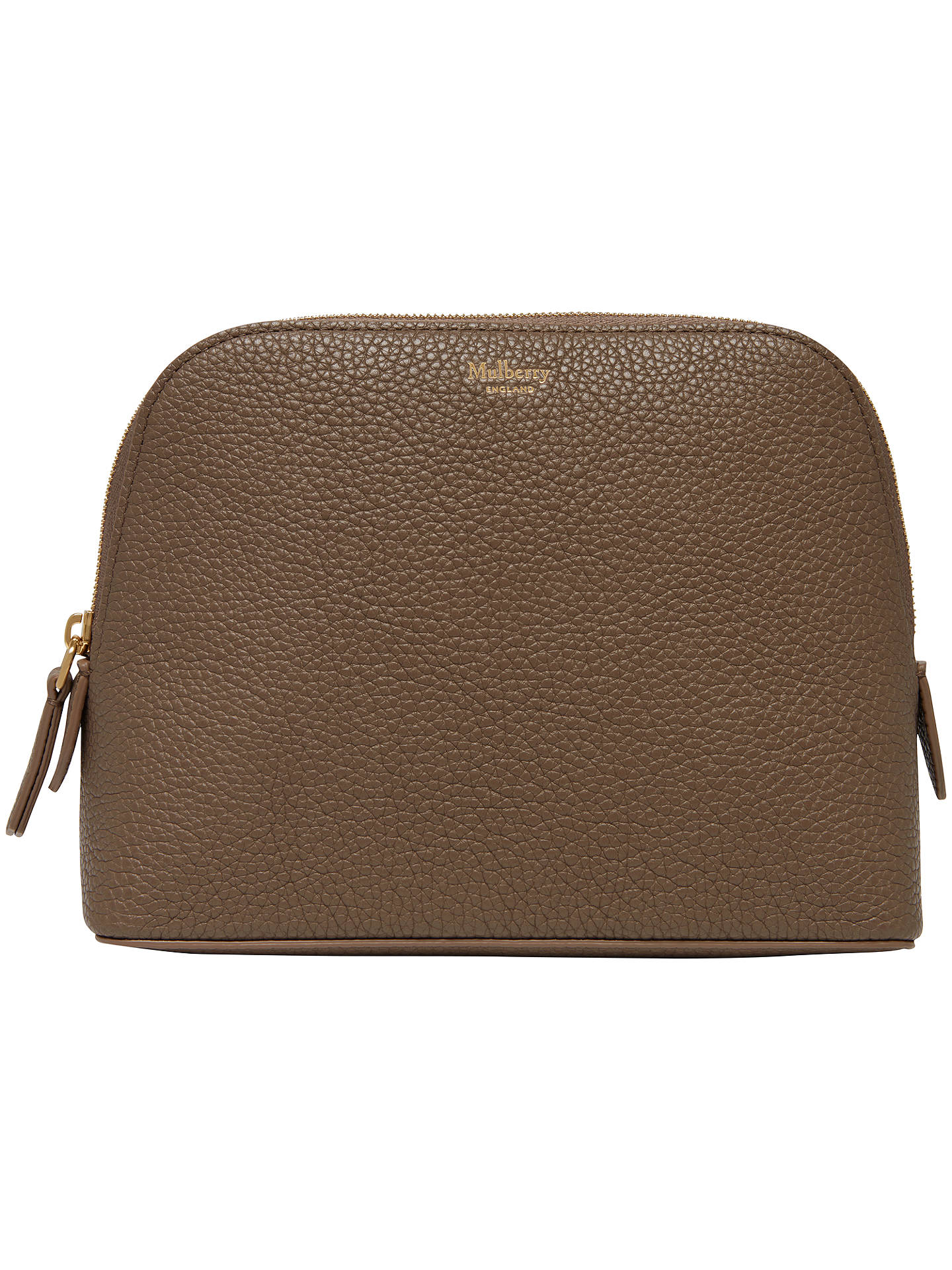 7cf6e3533766 norway mulberry gold cosmetic bag f058a 7b363  denmark buymulberry bugatti  leather cosmetic pouch clay online at johnlewis 6b253 3b150