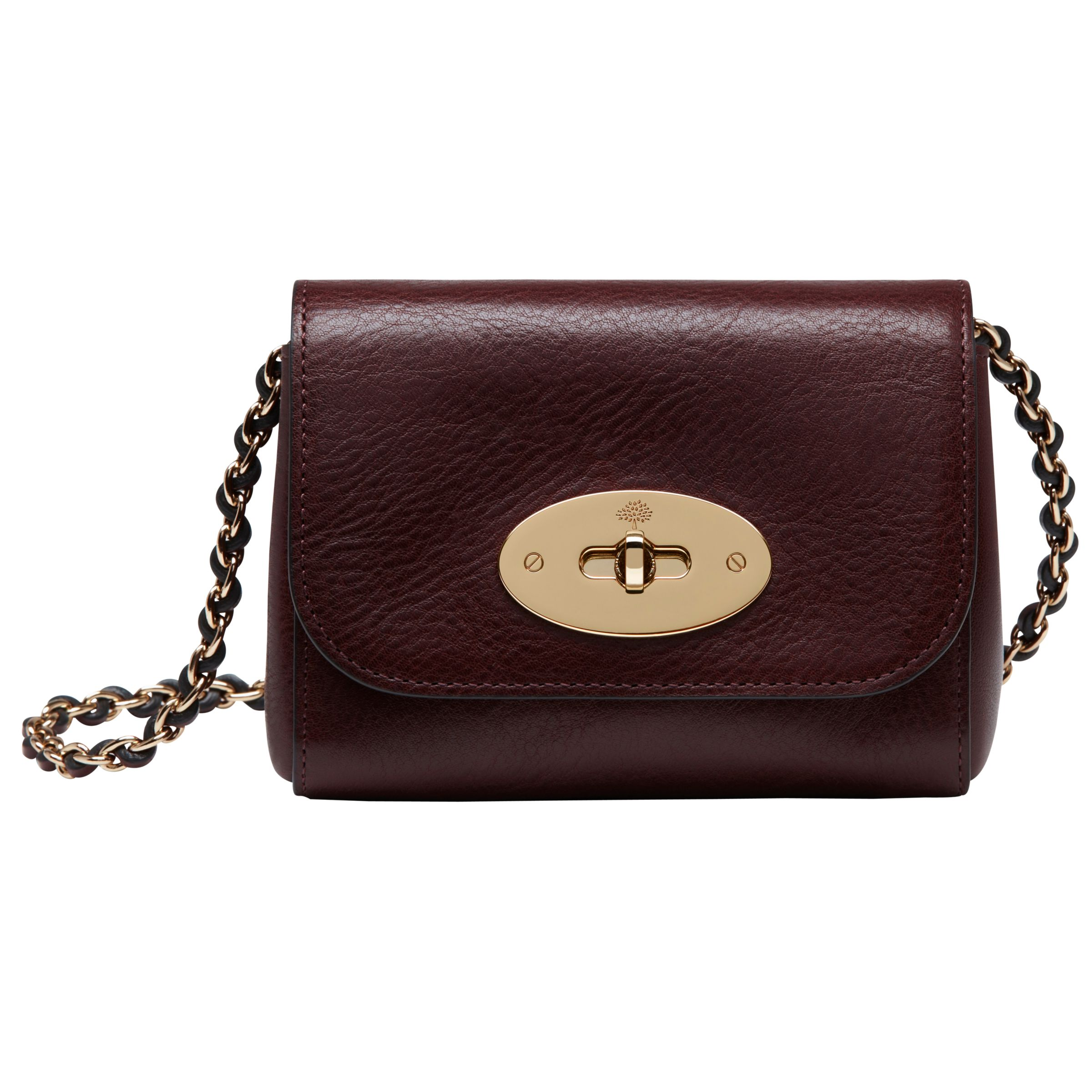 df2d024e178b Mulberry New Lily Mini Leather Shoulder Bag at John Lewis   Partners