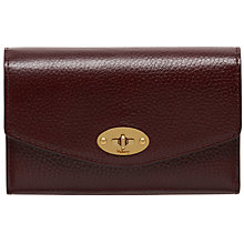 Buy Mulberry Darley Grain Veg Tanned Leather Wallet Online at johnlewis.com