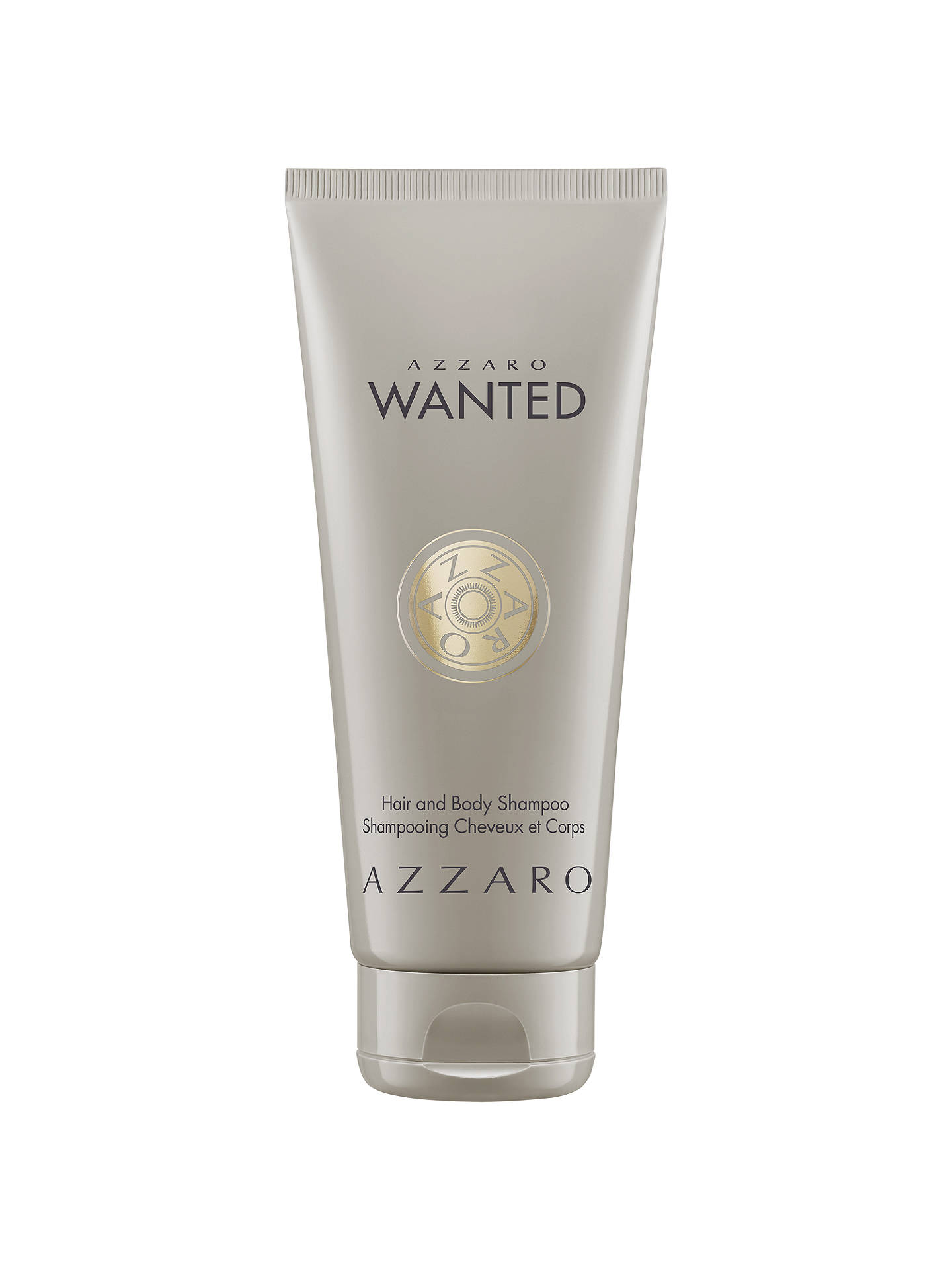 BuyAzzaro Wanted Hair & Body Shampoo, 100ml Online at johnlewis.com