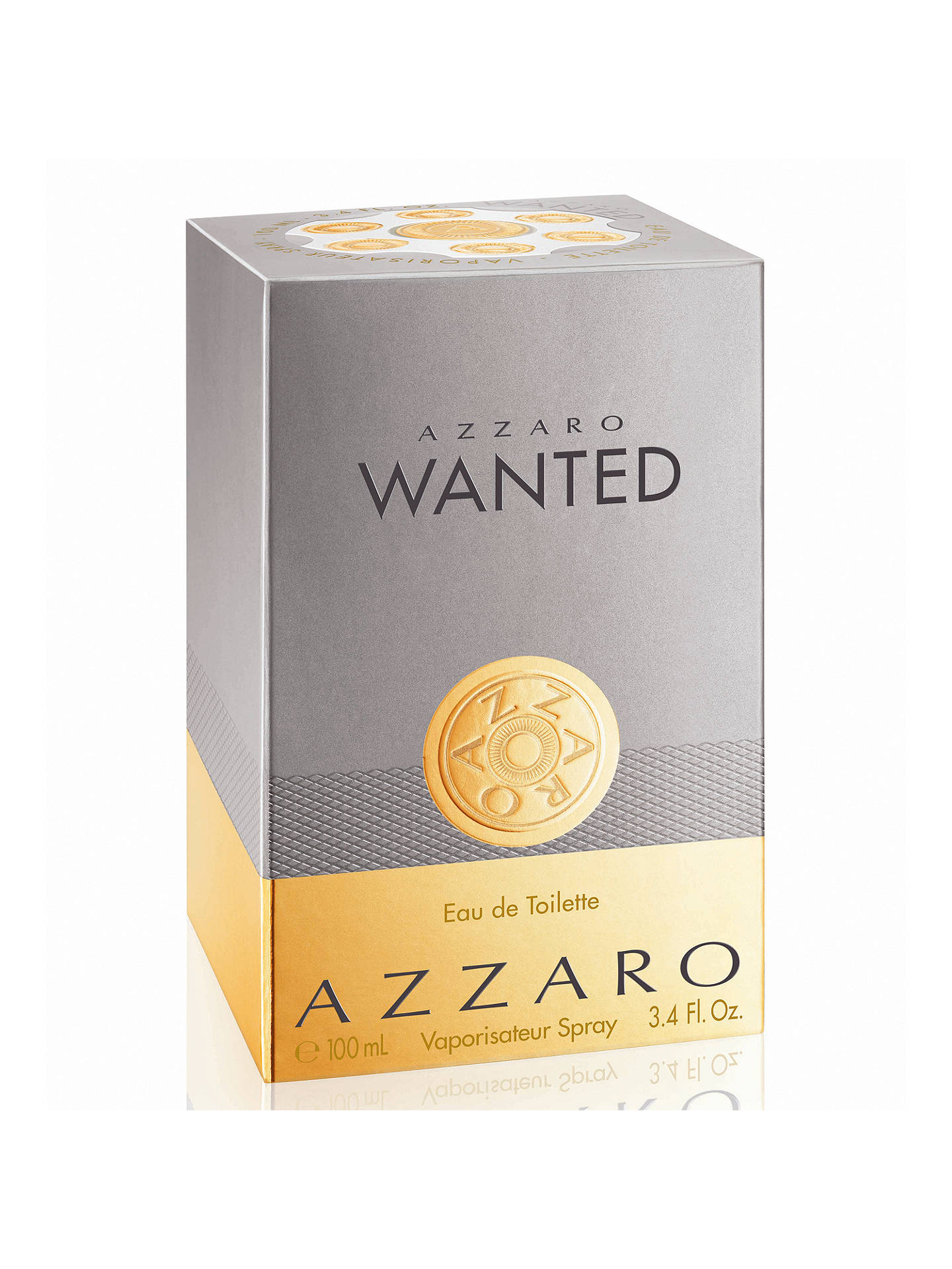 Buy Azzaro Wanted Eau de Toilette, 100ml Online at johnlewis.com