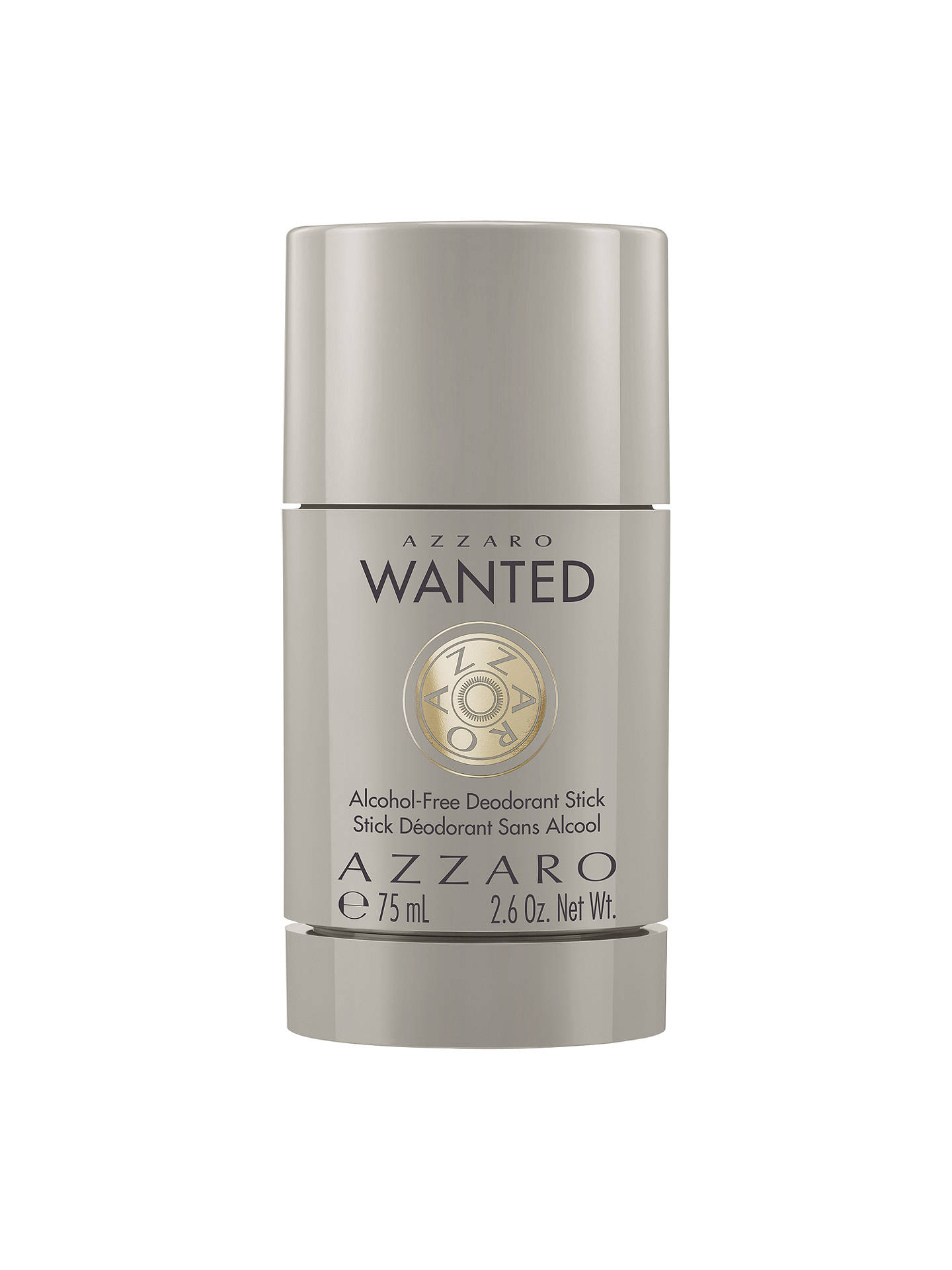 BuyAzzaro Wanted Alcohol-Free Deodorant Stick, 75ml Online at johnlewis.com