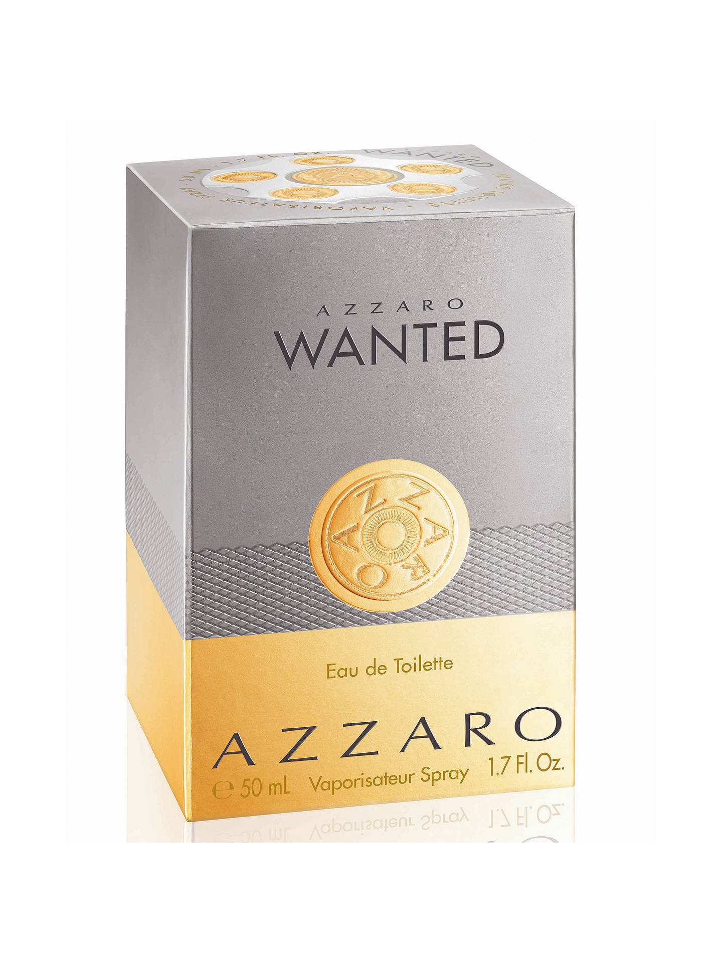 Buy Azzaro Wanted Eau de Toilette, 50ml Online at johnlewis.com