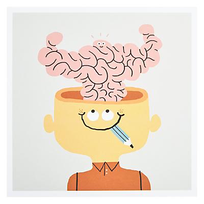 Urban Graphic Big Brain Card