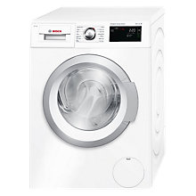 Buy Bosch WAT28660GB Freestanding Washing Machine with i-DOS, 8kg Load, 1400rpm, A+++ Energy Rating, White Online at johnlewis.com
