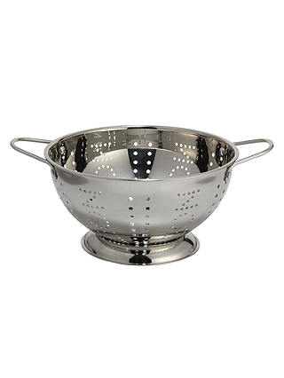 Buy LEON Stainless Steel Colander Online at johnlewis.com