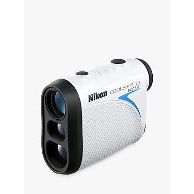 Image of Nikon COOLSHOT 20 Laser Range Finder With 6-550 Yard Range