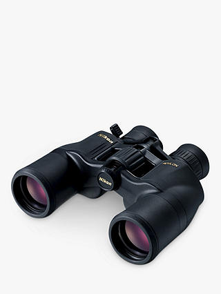 Buy Nikon Aculon A211 Binoculars, 8-18 x 42, Black Online at johnlewis.com