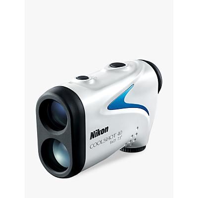 Image of Nikon COOLSHOT 40 Laser Range Finder With 8-650 Yard Range