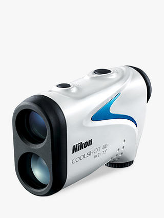 Buy Nikon COOLSHOT 40 Laser Range Finder With 8-650 Yard Range Online at johnlewis.com