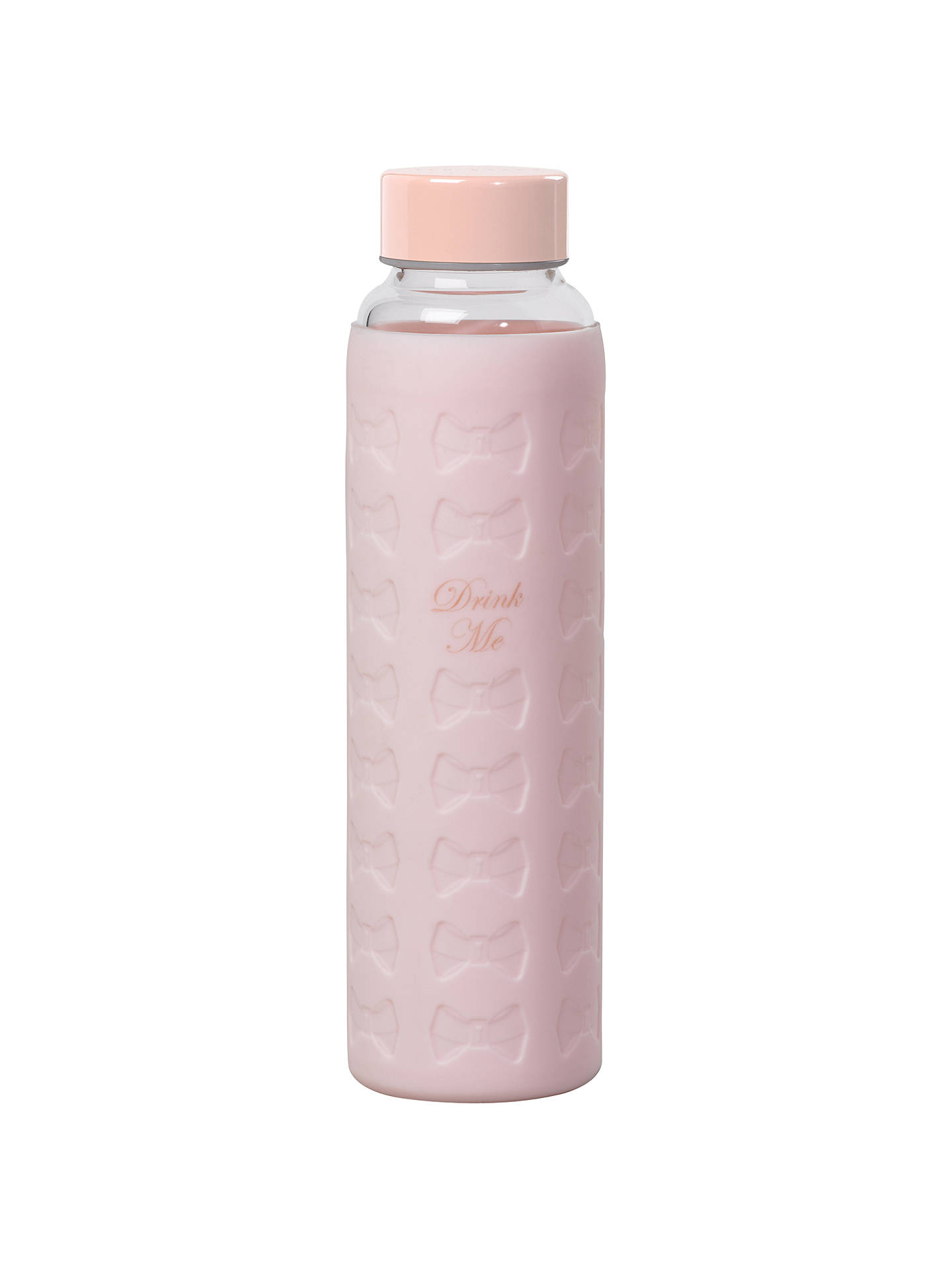 Buy Ted Baker, Glass Water Bottle, Pink Online at johnlewis.com