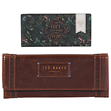 Buy Ted Baker Brogue Sunglasses Case, Red Online at johnlewis.com