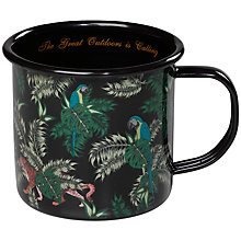 Buy Ted Baker Jungle Enamel Mug Online at johnlewis.com